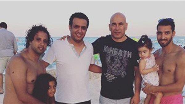 حسام حسن يستجم فى المصيف مع الكاديكى وحسن مصطفى وشكرى