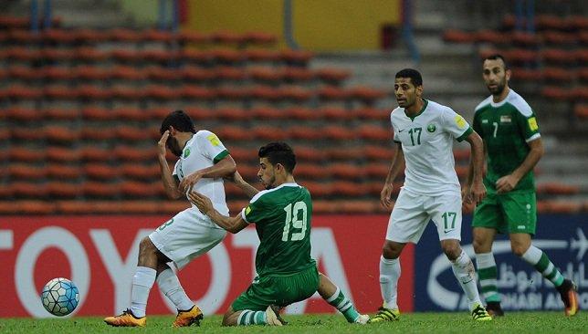 السعودية تتعادل مع فلسطين ضمن تصفيات كأس العالم
