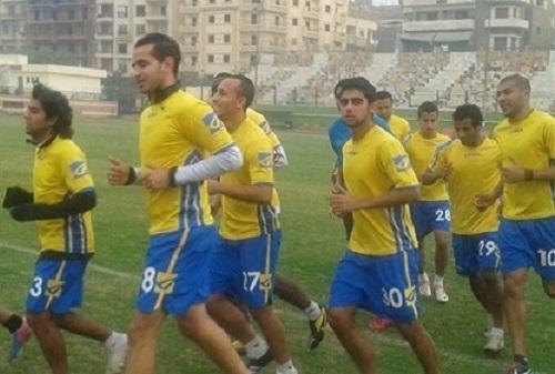 طنطا يختتم استعداداته لمباراة النصر غدآ السبت