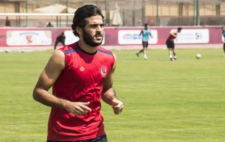 مروان محسن يواصل برنامجه التأهيلي علي هامش مران الأهلي