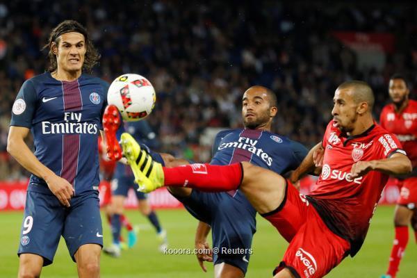 ليل يسحق سان جيرمان 5-1 في الدوري الفرنسي