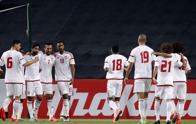 تايلاند تفوز علي الإمارات 2-1 وتتصدر مجموعتها في التصفيات الآسيوية