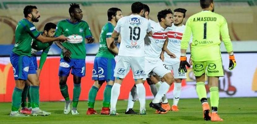 موعد مباراة الزمالك ومصر المقاصة بالدوري الممتاز