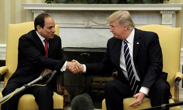 الرئيس السيسي يلتقي ترامب اليوم في واشنطن