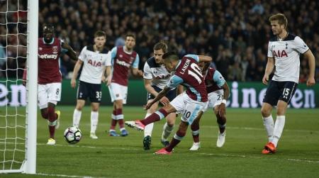 توتنهام يتعادل مع وست هام 1-1 في الدوري الإنجليزي