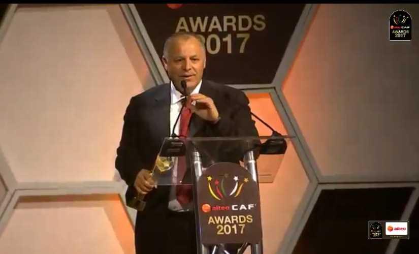 منتخب مصر الأفضل في أفريقيا لعام 2017