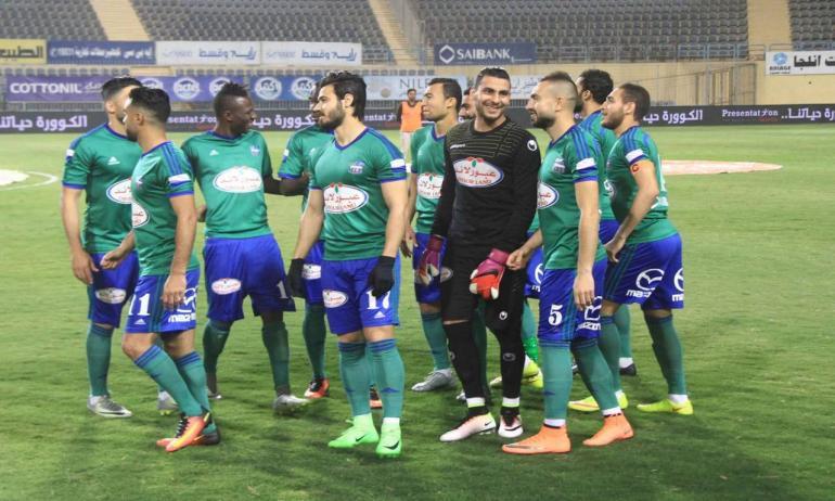 المقاصة يفوز علي الإنتاج الحربي 2-1 في الدوري