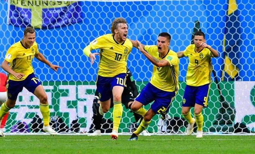 السويد تستدرج بولندا لحسم التأهل لدور الستة عشر فى يورو 2020