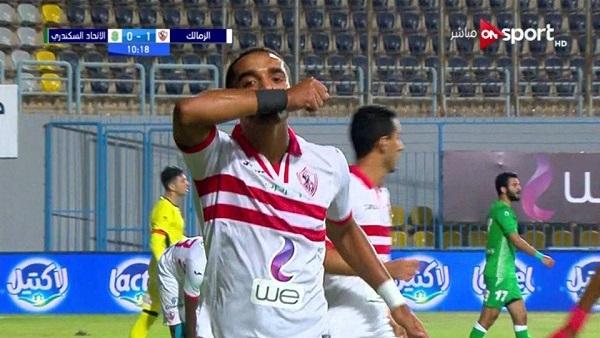 الزمالك يفوز علي المقاصة 2-0 ويتأهل لنصف نهائي كأس مصر
