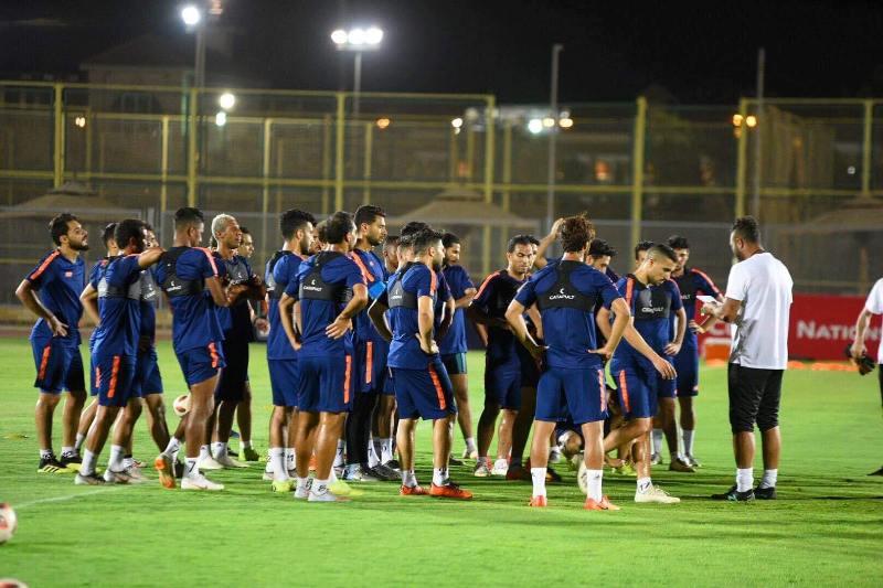 مصر المقاصة يواصل تدريباته استعدادآ لمباراة المصري