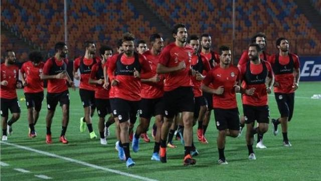 منتخب مصر يواصل استعداداته لمباراة بوتسوانا الودية