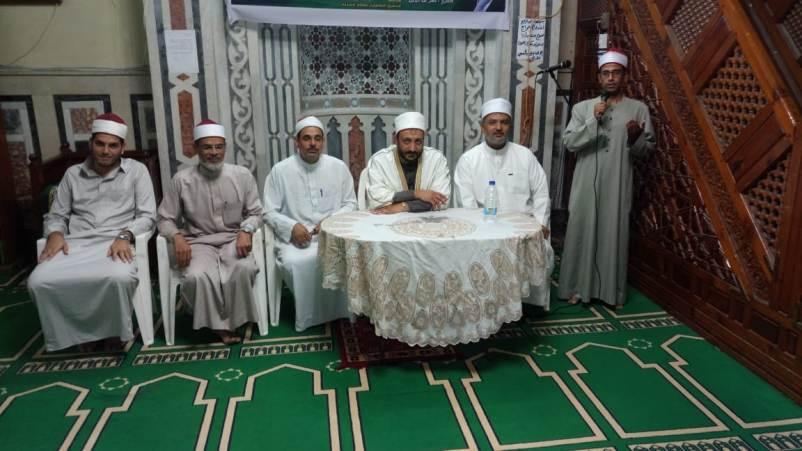 أوقاف المنتزة تحتفل بذكري انتصارات أكتوبر بالمسجد الكبير بالمعمورة الشاطئ