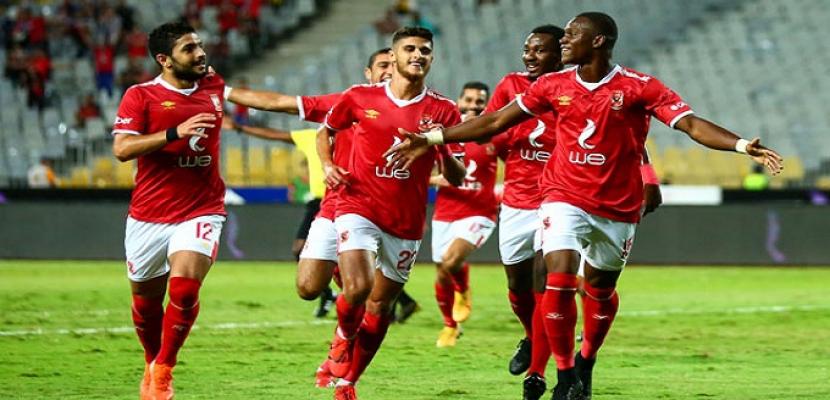 الأهلي يرتدي القميص الأحمر أمام بالميراس في مونديال الأندية