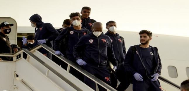 بعثة الزمالك تطير إلى الجزائر استعداداً لمواجهة المولودية