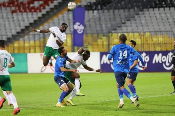 سموحة يتعادل مع المصري 1-1 في الدوري