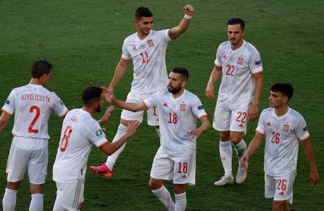 إسبانيا تكتسح سلوفاكيا 5-0 وتتأهل إلى دور الـ 16 بـ «يورو 2020»