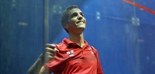 علي فرج يفوز ببطولة العالم للاسكواش للمرة الثانية في تاريخه