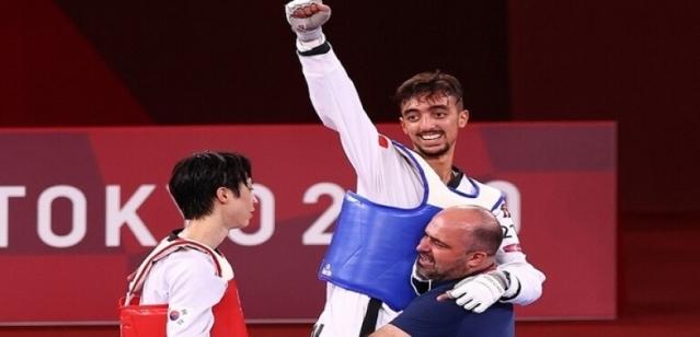 التونسى الجندوبى يضمن أول ميدالية عربية فى التايكوندو بـ أوليمبياد طوكيو