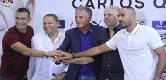 كيروش يستبعد شريف وأفشة من قائمة منتخب مصر أمام ليبيا